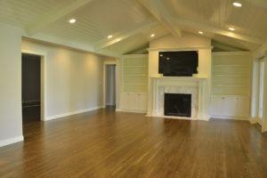 Home hardwood flooring living room image 2