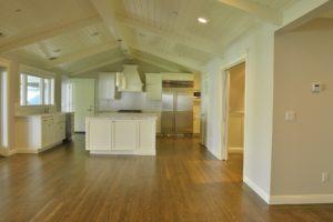 Home kitchen hardwood flooring image 2