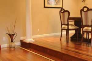 Hardwood flooring border 01