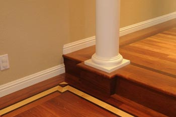 Hardwood flooring border 03