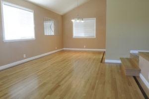 Hardwood flooring living and dinning room 05