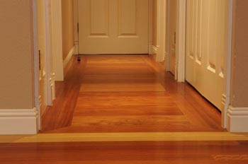 Hallway hardwood floor image 11