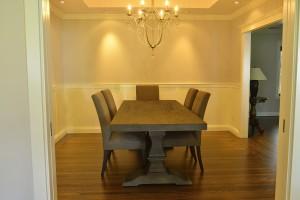 Dinning room hardwood floor