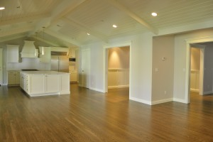 Large kitchen hardwood flooring image 2