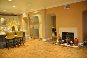 Kitchen hardwood flooring image 4